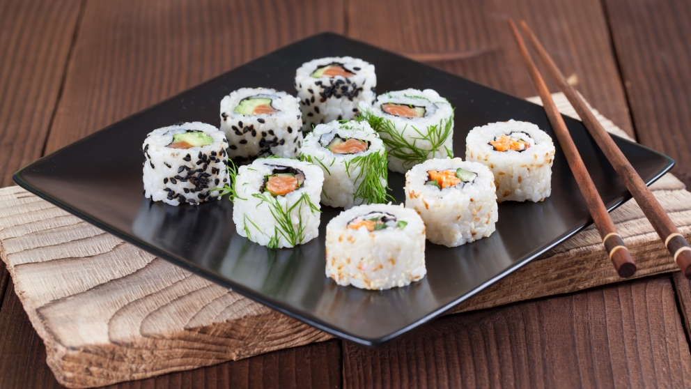 Receta De California Roll