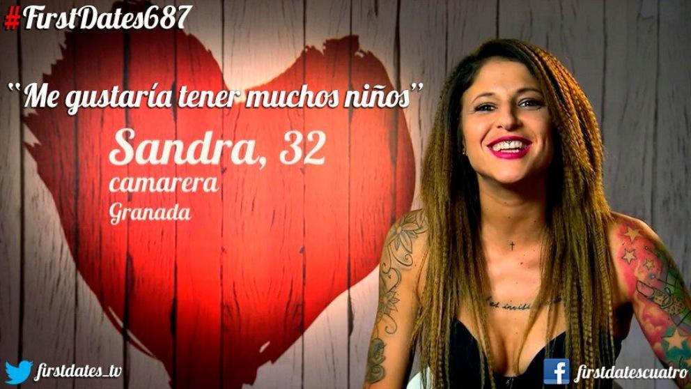 Sandra encuentra, por fin, el amor en 'First Dates'