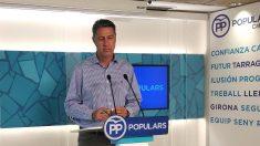 Xavier García Albiol, presidente del PP catalán. (EP)