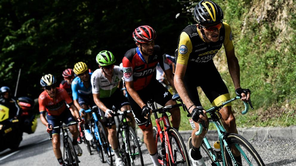 Así queda la clasificación del Tour de Francia tras la 16ª etapa.