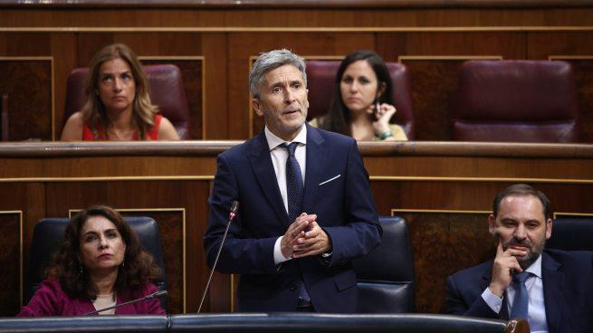 Sesión de control al Gobierno en funciones 1. Fernando-grande-marlaska-ministro-interior-655x368