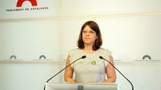 Gemma Geis, portavoz de JxCat en el Parlament. (EP)