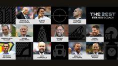 Los 10 entrenadores nominados al The Best.