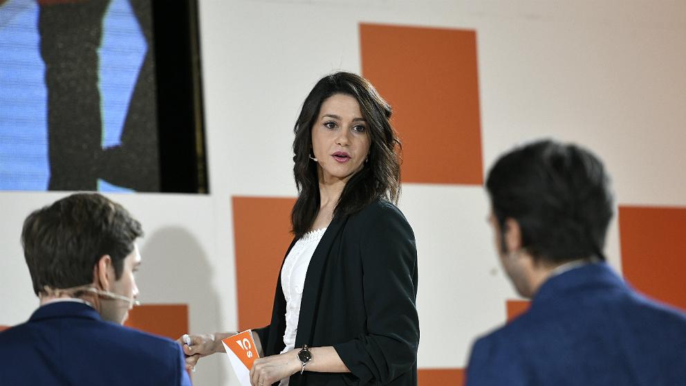 Inés Arrimadas, portavoz nacional y líder de C's en Cataluña. (EP)