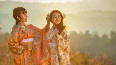 Vestirse de maiko o geisha es muy atractivo.