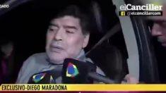 Maradona vuelve a dar el cante. (ElCanciller TV)