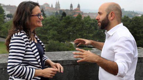 Oltra apoya los actos nacionalistas y a Podemos en el día de Galicia