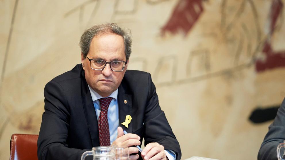 Quim Torra, presidente de la Generalitat de Cataluña. (Foto: EFE)