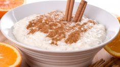 Receta de arroz con leche sin azúcar
