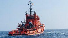 Una embarcación de Salvamento Marítimo. (EP)