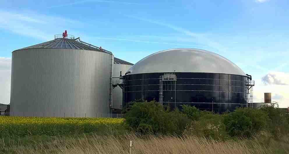 El biogás, ejemplo de biodigestor