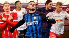 Icardi, Cavani, Rodrigo, Lewandowski y Werner, en el radar del Real Madrid.