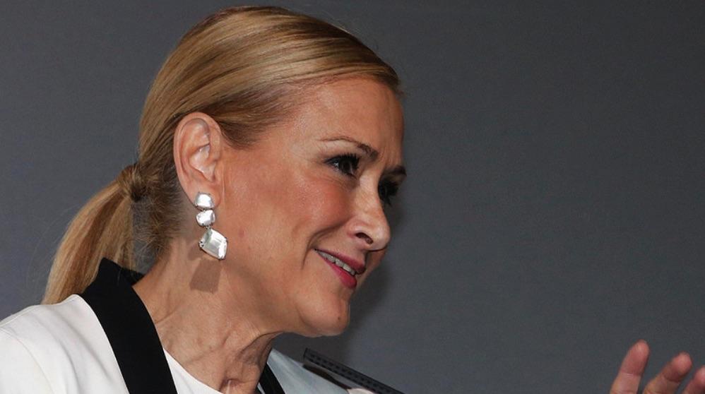 La expresidenta Cifuentes. (Foto. Comunidad)