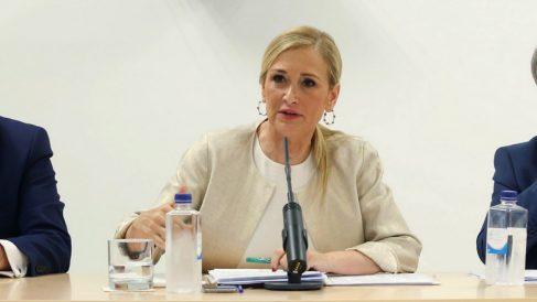 La expresidenta de Madrid Cristina Cifuentes. (Foto. Comunidad)