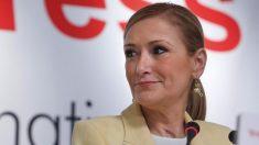 La ex presidenta de la Comunidad Cristina Cifuentes (Foto: CAM).