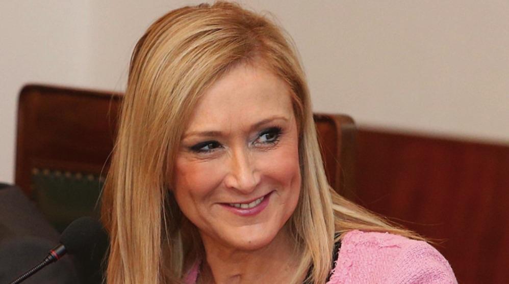 La expresidenta madrileña Cristina Cifuentes. (Foto. Comunidad)