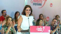La vicesecretaria general del PSOE y portavoz del Grupo Parlamentario Socialista, Adriana Lastra (Foto: Efe)
