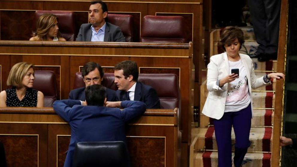 Miembros del PP en el Congreso.