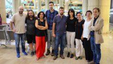 Concejales de Podemos y de la CUP que parten hacia Cisjordania