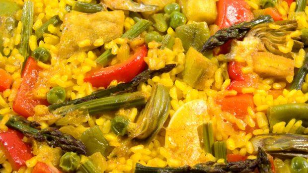 Receta de paella de verduras for Como hacer paella de verduras