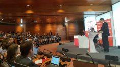 Presentación de resultados del segundo trimestre de Banco Santander.