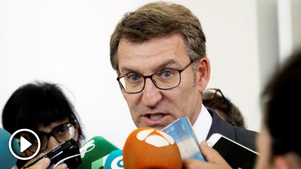 Alberto Núñez Feijóo, presidente de la Xunta de Galicia. (Foto: EFE)