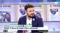Gabriel Rufián en 'El programa del verano'.