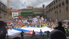 """Gritos de """"libertad presos políticos"""" el 25 de julio en Galicia"""