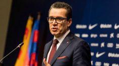 Josep Vives, en la comparecencia. (FCB)
