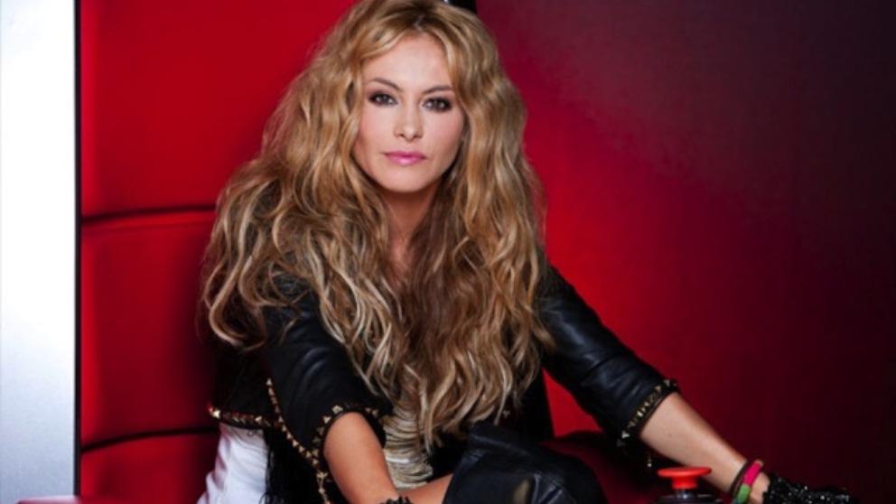 Paulina Rubio coach de 'La Voz'