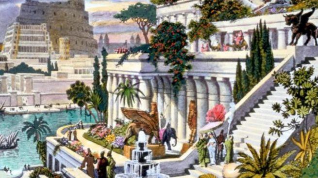 Qué son los Jardines Colgantes de Babilonia