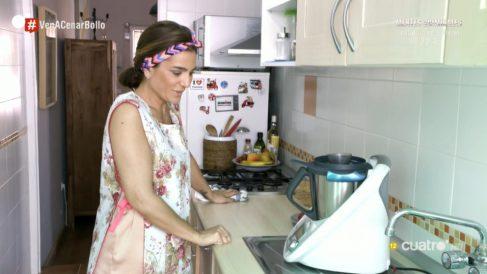 Raquel Bollo en Raquel Bollo y su menú «sentimental» en 'Ven a cenar conmigo: Summer edition'