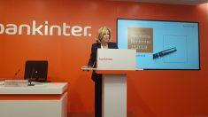 Dolores Dancausa presenta los resultados de Bankinter.