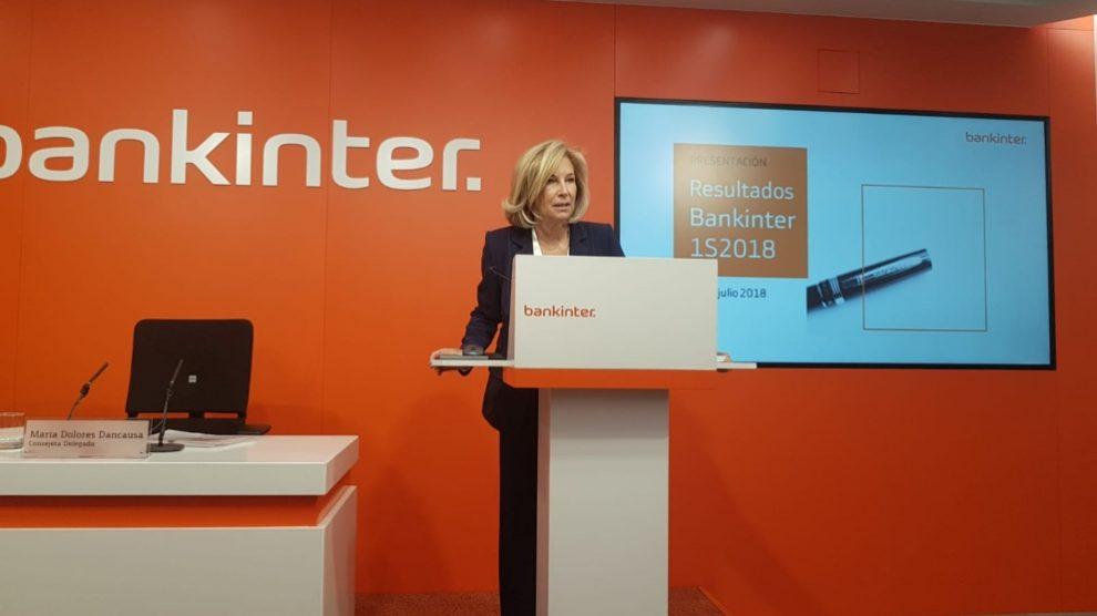 Dolores Dancausa, CEO de Bankinter.