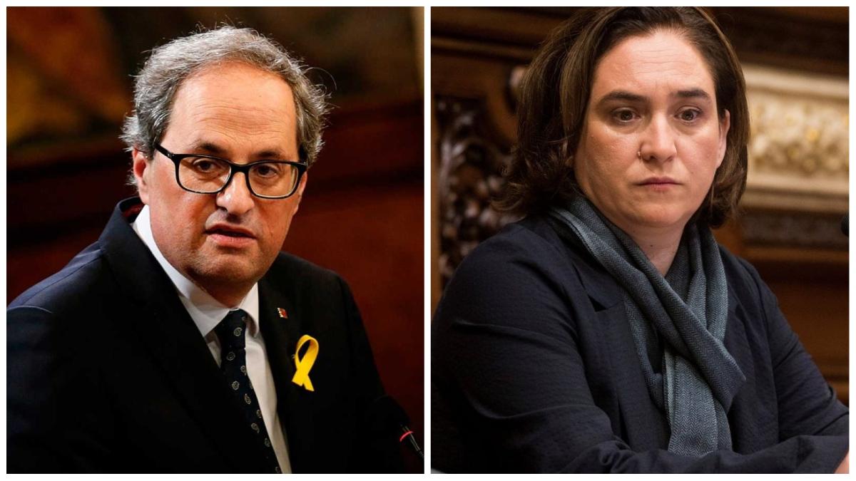 Torra y Colau no frenan la okupación en Cataluña: concentra el 48% de los casos en España