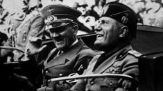 Adolf Hitler y Benito Mussolini | Efemérides del 29 de julio de 2018