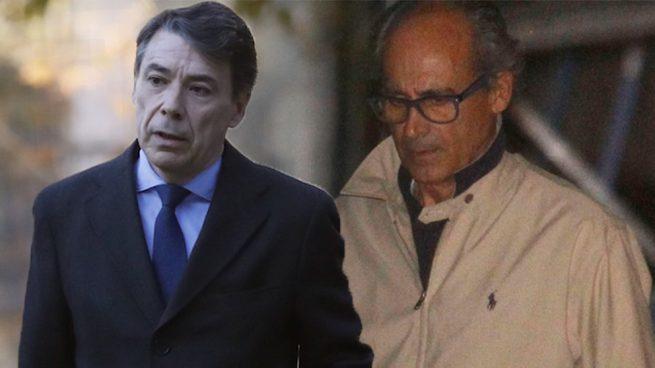 El expresidente de la Comunidad de Madrid, Ignacio González, y el expresidente de Inassa, Edmundo Rodríguez Sobrino.