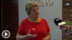 Milagros, fundadora del proyecto OLA, de la asociación A toda Vela