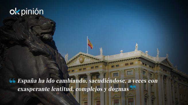 España: vista a la derecha