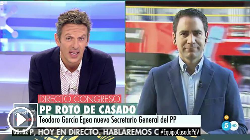 Teodoro García Egea en 'El programa del verano'.