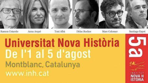 El cómico que insultó a Inés Arrimadas invitado como ponente historiador