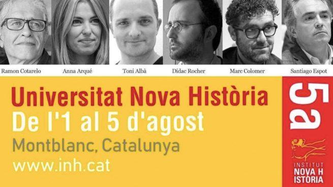 El cómico de TV3 que llamó «mala puta» a Arrimadas ponente en una jornada sobre historia catalana