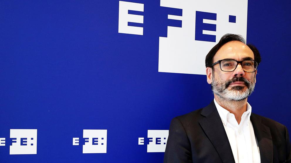 Fernando Garea, presidente de la Agencia EFE. (Foto: EFE).