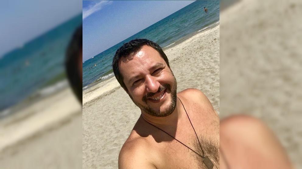 Matteo Salvini, vicepresidente y ministro del Interior de Italia.