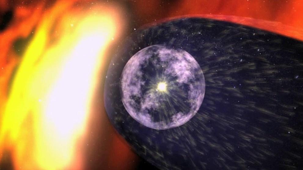 Qué es la heliosfera