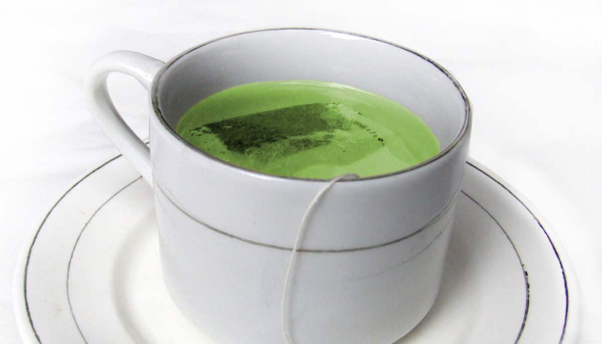 Acné y té verde