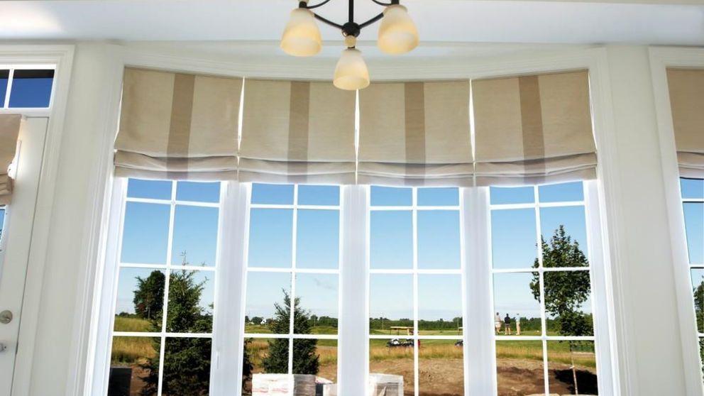 Aprende cómo hacer cortinas romanas