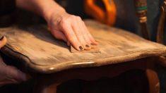Cómo pintar madera con efecto envejecido paso a paso