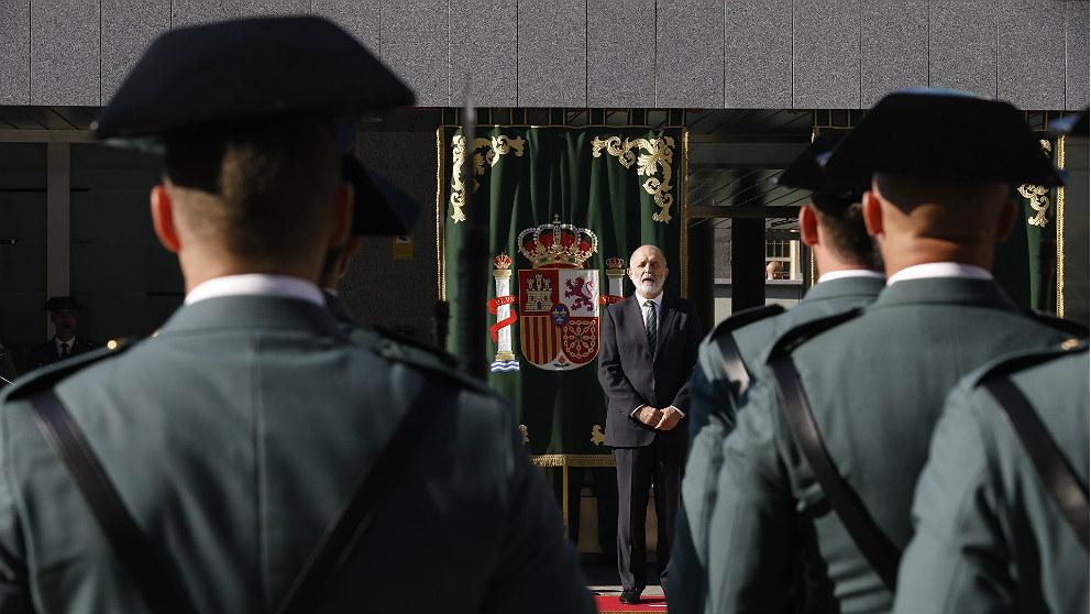 Félix Azón, director general de la Guardia Civil. (EP)