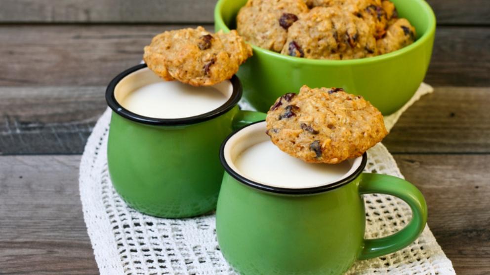 Receta de galletas de quinoa y naranja, sanas y fáciles de preparar